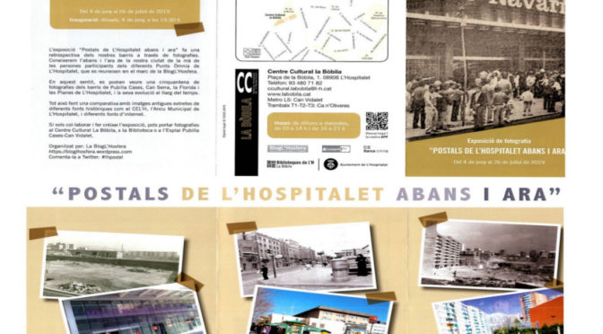 Exposició de fotografia: Postals de L'Hospitalet abans i ara